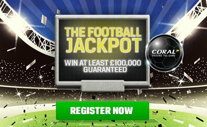 Coral Football Jackpot bonus