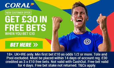 best betting offers - coral free bet
